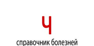 Справочник болезней на букву - Ч