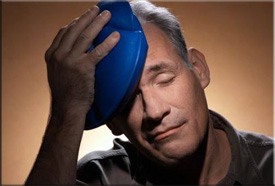Что такое тепловой удар? Какие симптомы теплового удара? Как избежать теплового удара? Первая помощь при тепловом ударе. Видео