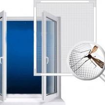 Сетки на окна и двери от комаров (москитные сетки)