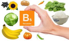 Источники витамина B6 (пиридоксина)
