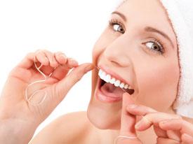 Зубная нить. Как пользоваться зубной нитью для чистки зубов?