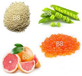 Источники витамина B8 (инозитола)