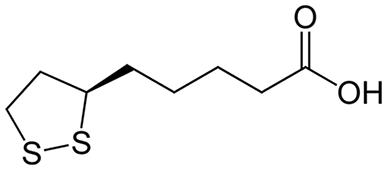 Химическая формула липоевой кислоты