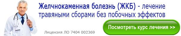 Лечение желчнокаменной болезни (ЖКБ) травяными сборами