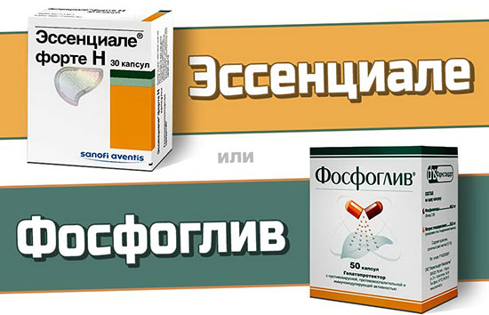 Фосфоглив или Эссенциале – что лучше?