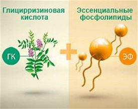 Особенности состава Фосфоглива