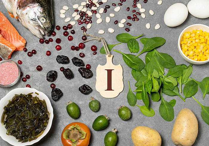 В каких продуктах содержится йод больше всего?