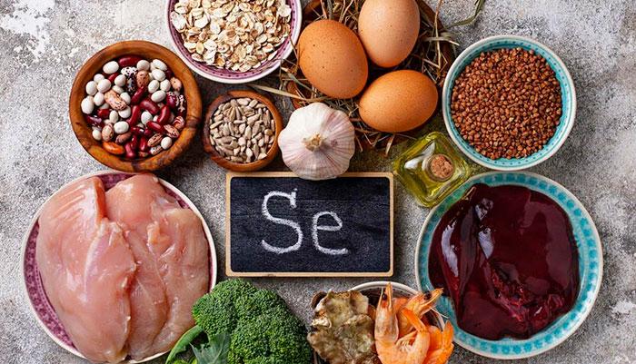 В каких продуктах Se содержится больше всего? Источники селена