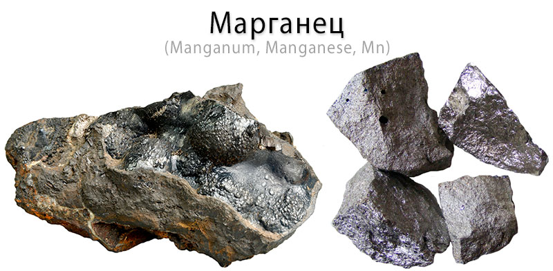 Марганец - фото, как выглядит, физико-химические свойства